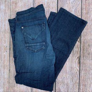Hudson Mens Slim Straight Jeans